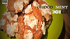 Choco-Mint Snowcap Cookies - Christmas Baking