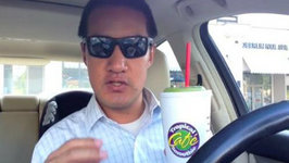 Spinach and Kale Smoothie from Tropical Smoothie Cafe Review Freezerburns (Ep593)