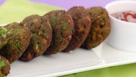 Crunchy Bread Cutlets by Tarla Dalal