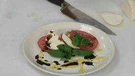 Fresh Bocconcini Tomato and Basil Salad