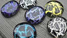 Crackle Nail Polish Glass Stones