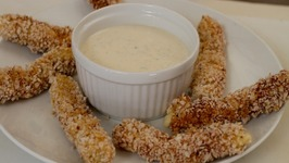 Macho Mozzarella Sticks & Pumped-Up Pepper Jack Sticks