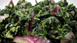 Fried Spinach
