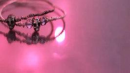 Fashion DIY: Skull Wire Bracelet