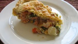 Salmon Crunch Pie
