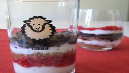 Red, White and Blue Parfait - 4th of July Potluck
