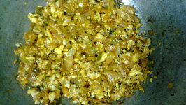 Anda Bhurji With Bread Toast