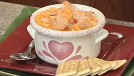 Shrimp and Sweet potato chowder