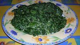 Superb Creamed Spinach