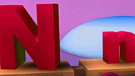 Letter N Song for Children  English Alphabet Songs for Children  3D Animation Nursery Rhymes