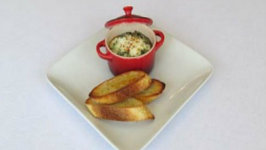 Spinach and Egg en Cocotte