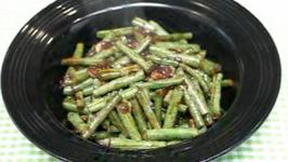 Filipino Sauteed Long Green Beans