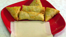 Homemade Paper Thin Spring Roll Wrappers or Pastry - Samosa Pastry