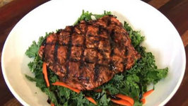 Balsamic Glazed Grilled Salmon - A Quick & Easy Lunch