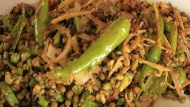 Celery Payaru Thoran