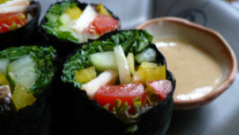 Chinese New Year Raw Sushi Rolls