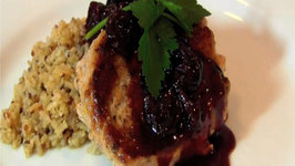 Pork Tenderloin with Cherry Port Sauce
