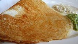 Masala Dosa with Chutney