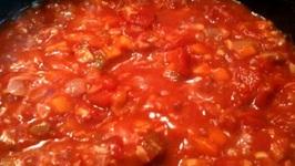 Tomato Eggplant Sauce