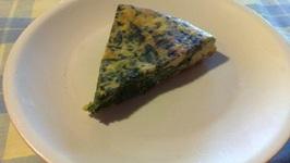 Spinach Pasta Frittata