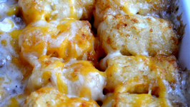Tater Tot and Beef Hot Dish