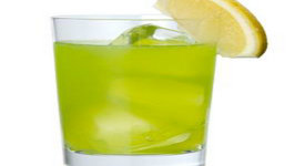 Midori Spumoni Cocktail