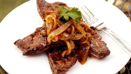 French Pork Liver with Onions