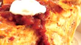 Chicken Enchilada Quiche