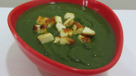 Spinach and Cottage Cheese Soup
