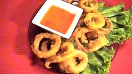 Crispy Thai Beer Fried Onion Rings