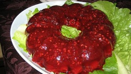 Jellied Cranberry and Orange Salad