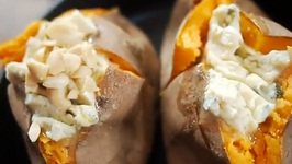 Roast Sweet Potato With Compound Butter
