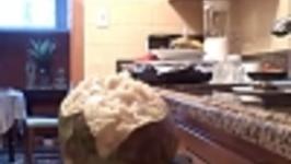Rawfoodcook- Cherimoya and Tali Part 1