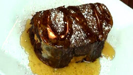 French Toast Stuffed with Pumpkin Cream Cheese