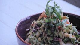 Raw Asian Chopped Salad