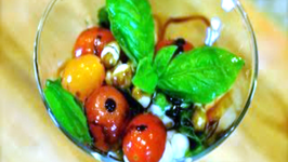 Salad Caprese - Martini Style