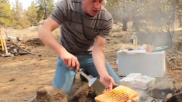 Camping Special Panini Sandwich
