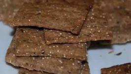 Healthy 3 Grain Crackers
