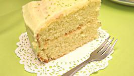 Eggless Lime Cake