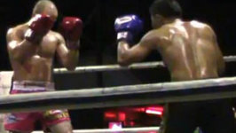 Muay Thai Fight in Chiang Mai, Thailand
