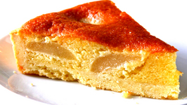 Homemade Pear Flan Recipe Video by