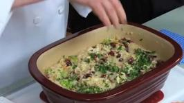 Autumn Risotto with Chicken and Cranberries
