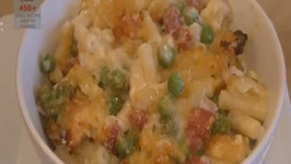 Macaroni and Cheese (and Peas and Bacon)