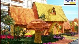 The Lemon Festival in Menton--