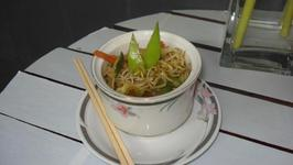 sauteed mung bean sprout