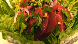 Betty's Beet and Romaine Salad -- Mother's Day