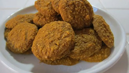 Healthy Pumpkin Holiday Cookies