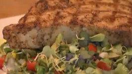 Chopped Salad with Asian Vinaigrette