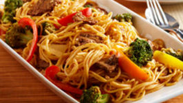 Thai-style Curry Beef & Pasta