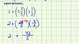 Example 1: Simplifying Expressions Involving Mixed Numbers Video ...
